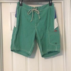 J Crew swim trunks